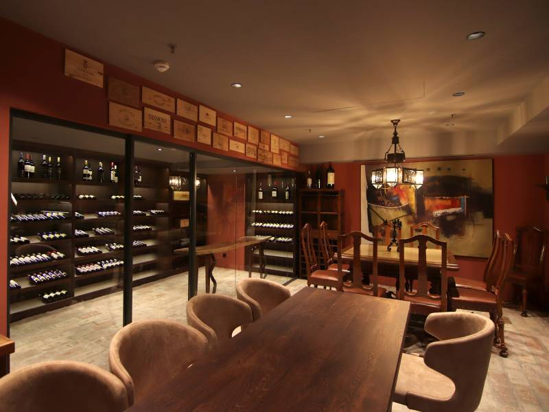 Bottega di Vino del Hotel Raddison Collection